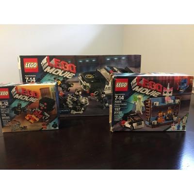 Lego Movie 3-Pack