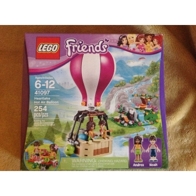 Lego Friends # 41097 -  Heartlake Hot Air Balloon