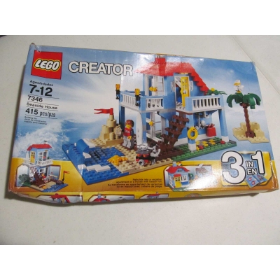 Seaside House 7346. Seals intact but damaged box. Free shipping to contiguous 48 United States.