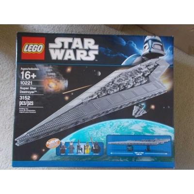 Lego Star Wars 10221 Super Star Destroyer UCS new