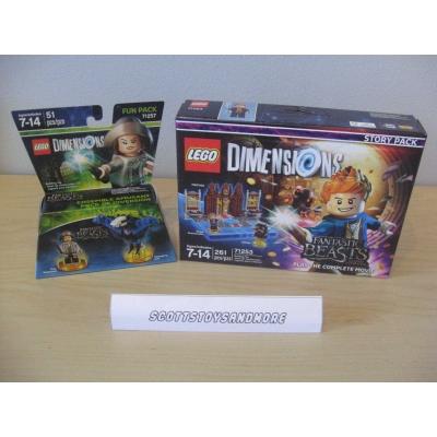 Lego Dimensions Fantastic Beasts lot NISB