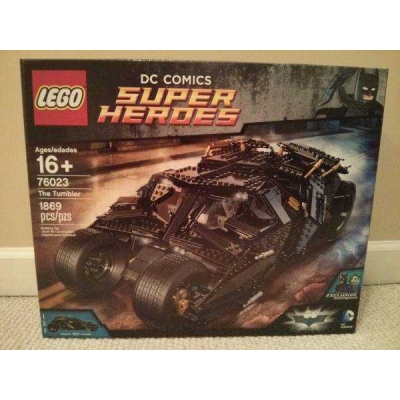 Sealed Lego Batman Dark Knight Tumbler 76023