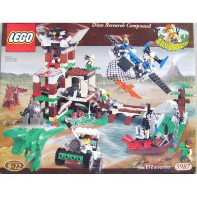 DINO RESEARCH COMPOUND LEGO#5987