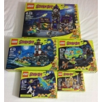 Scooby Doo Lot 75904 75903 75902 75901 75900 Mystery Machine Mansion Lighthouse Plane Mummy Museum