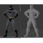LEGO Batman Life-size statue building instructions