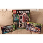 NIB Lego Ghostbusters lot Exclusive Firehouse 75827 Ecto-1 21108 Ecto-1&2 75828