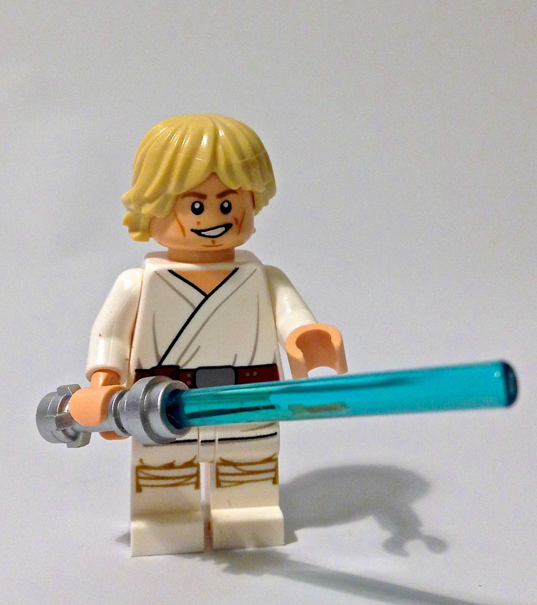 New LEGO® Star Wars™ Luke Skywalker Minifigure from the UCS Sandcrawler (75059) New! Mint! by ...