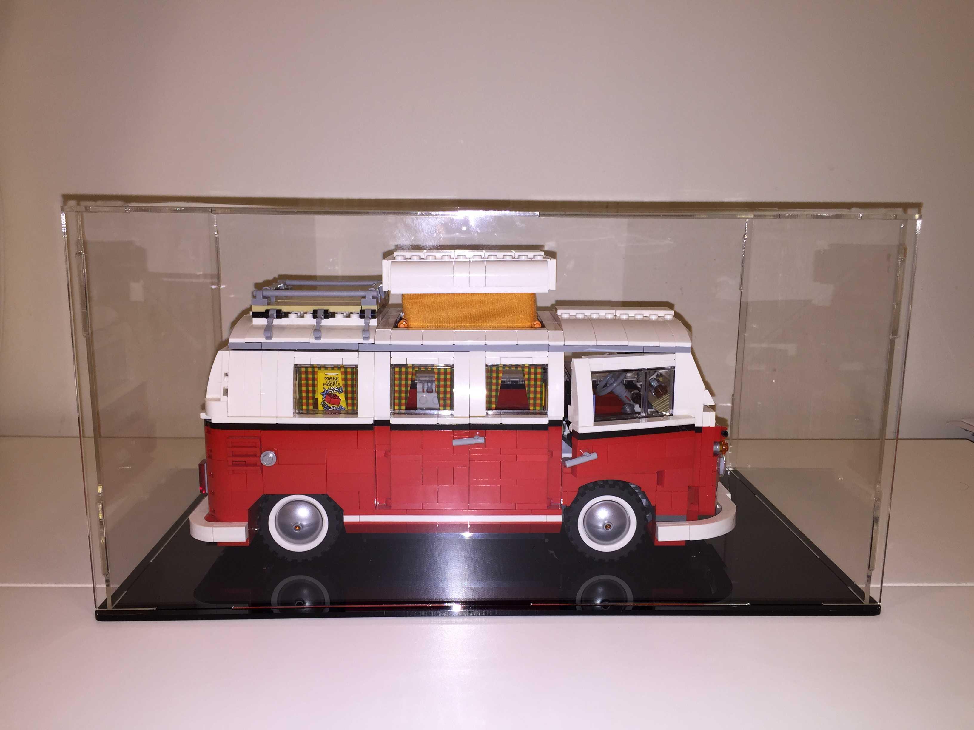 custom made lego volkswagen t1 camper van 10220 model. Black Bedroom Furniture Sets. Home Design Ideas