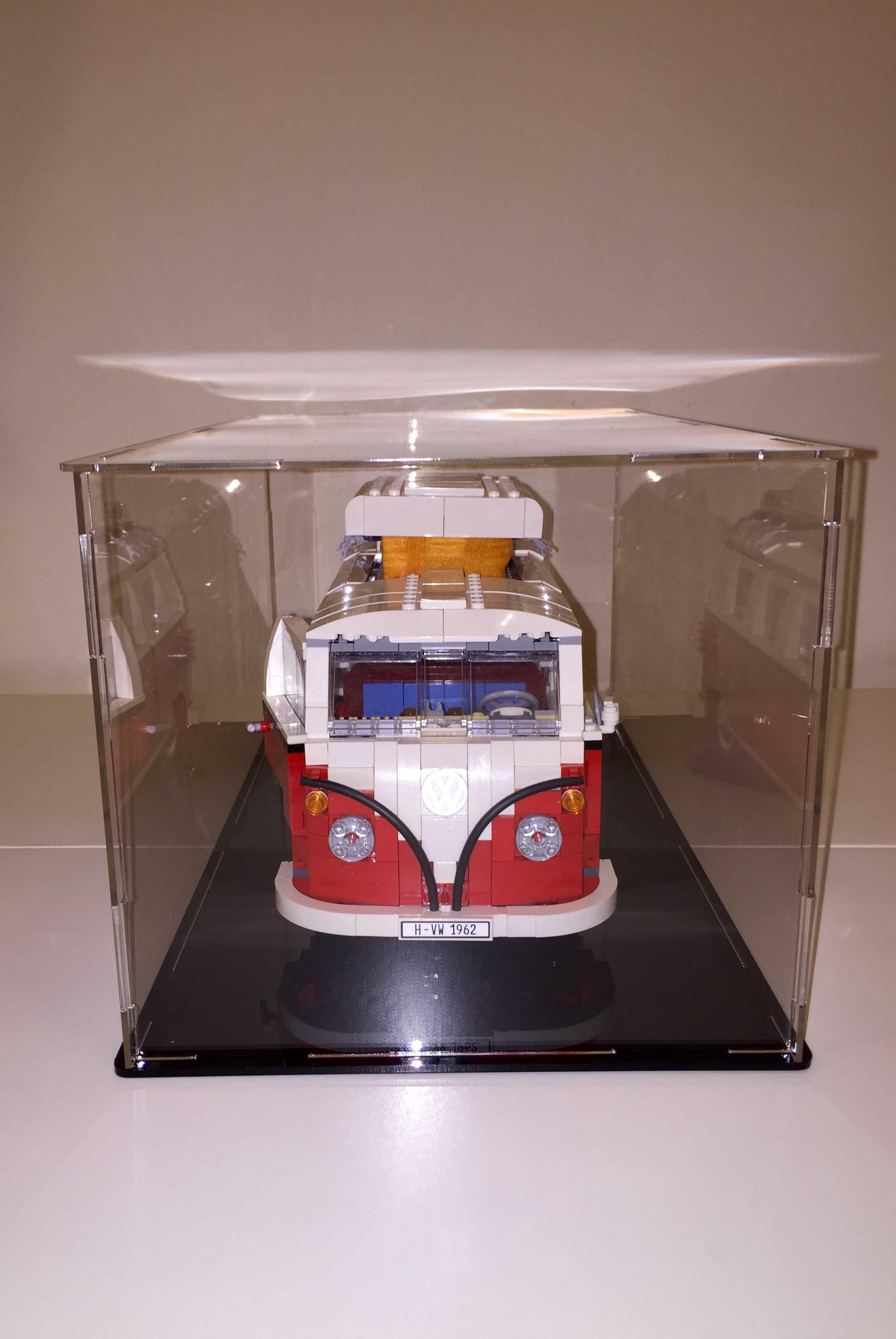 Custom Made LEGO Volkswagen T1 Camper Van (10220) Model Display Box by Gg Brick Shop on Brick ...