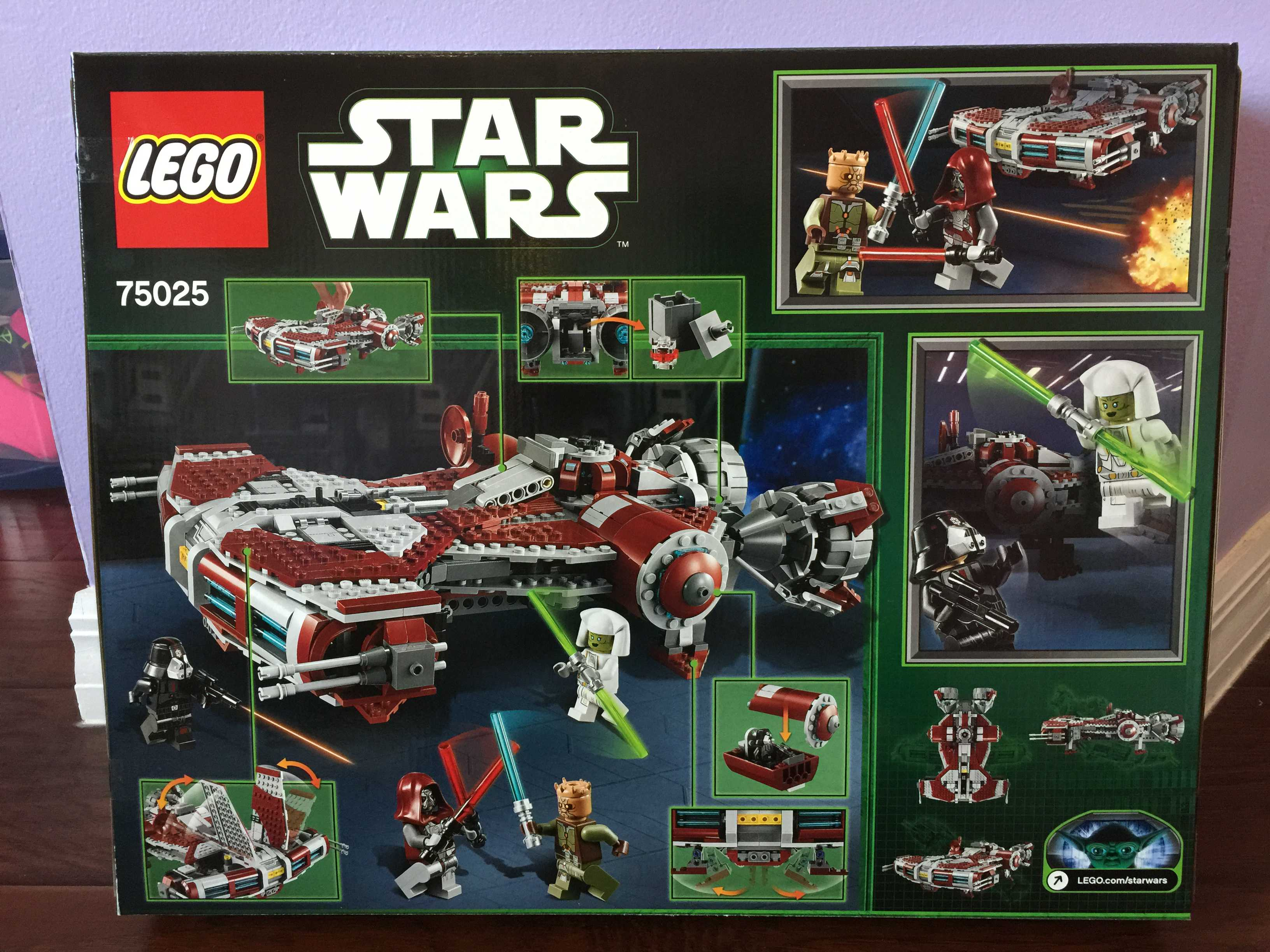 products brand new factory sealed lego star wars jedi defender class cruiser ship