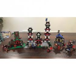 Huge Lego Castle Lot (Ninja subtheme) - 6093,6088,3051,3052