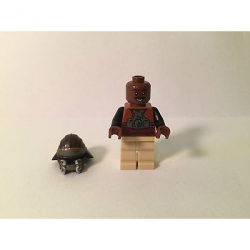 Genuine LEGO Star Wars Minifigure- Lando Calrissian - Skiff Guard - 9496 - SW398