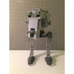 Genuine LEGO Star Wars Endor Imperial AT-ST Walker - WALKER ONLY -From set 7657