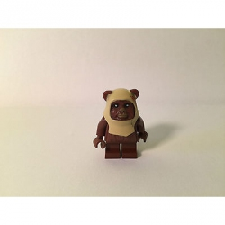 Genuine LEGO Star Wars Minifig - Paploo (Ewok) - Split from set 8038 - SW238