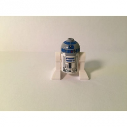 Genuine LEGO Star Wars Minifig - R2-D2 (Light Bluish Gray Head) -from 8092-SW217