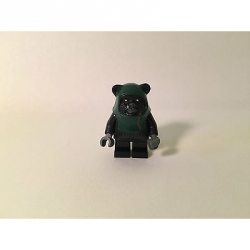 Genuine LEGO Star Wars Minifig - Tokkat (Ewok) - Split from set 7956 - SW339