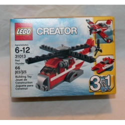 Lego Creator (31013) Red Thunder Helicopter 3-in-1