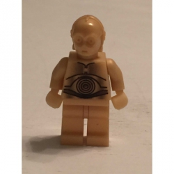 C3-PO Light Pearl Gold Minifigure 10144 7190 4475