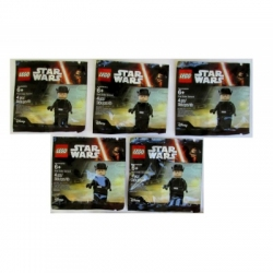 Lot of 5 LEGO First Order General Star Wars 5004406 Toys R Us Sealed NEW