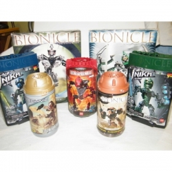 Bionicles Lot 8761, 8531, 8731, 8604, 8736, 8622 and 8728 100% Complete