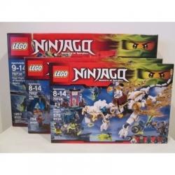 Lego Ninjago three set lot 70738, 70737, & 70734 *BRAND NEW!*