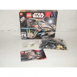 LEGO Star Wars General Grievous Starfighter 7656 100% Complete w/Box & Minifigs