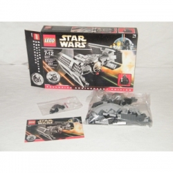 LEGO Star Wars Darth Vader's TIE Fighter 8017 100% Complete GENTLY USED