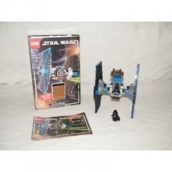 LEGO Star Wars TIE FIGHTER #7263 100% Complete w/Box & Minifigs VGC