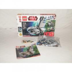 LEGO Star Wars Separatist Shuttle 8036 100% Complete w/Box & Minifigs VGC