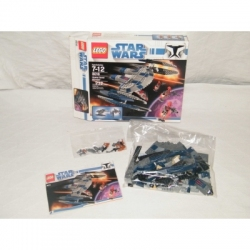 LEGO Star Wars Hyena Droid Bomber 8016 100% Complete GENTLY USED