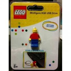 LEGO Minifigure 8GB USB Flash Drive (keychain included)
