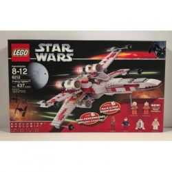 Lego Star Wars 6212 X-Wing Fighter (Retired & Includes Princess Leia) Factory New in Sealed Box