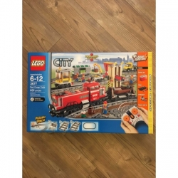 Lego 3677 Red Cargo Tran Brand New Sealed Retired Remote Controlled Tracks