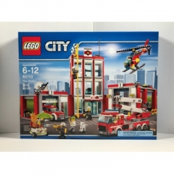 LEGO City Fire Station 60110 New In Factory Sealed Box
