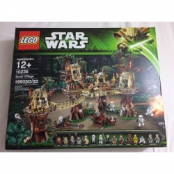 Factory Sealed 10236 Ewok Village - Star Wars - 1990 Pieces - FREE SHIPPING
