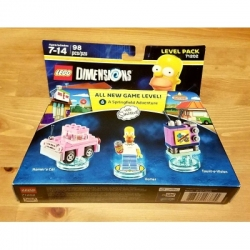 71202: Homer Simpsons Lego Dimensions Level Pack