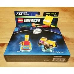 71211 Bart Simpson Lego Dimensions Fun Pack