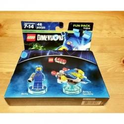71214 Benny Lego Movie Lego Dimensions Fun Pack