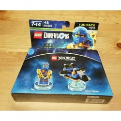 71215 Exclusive Ninjago Jay Lego Dimensions Fun Pack
