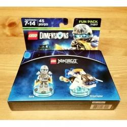 71217 Ninjago Zane Lego Dimensions Fun Pack