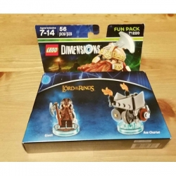 71220 Lord Of The Rings Gimli Lego Dimensions Fun Pack
