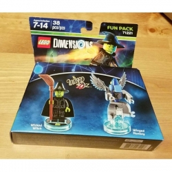 71221 Wicked Witch Wizard of Oz Lego Dimensions Fun Pack