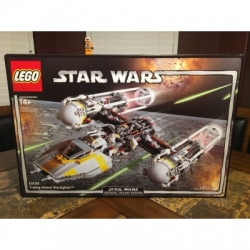 LEGO STAR WARS Y WING ATTACK STAR FIGHTER 10134 UCS NEW SEALED BONUS VERY RARE!