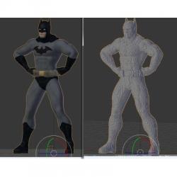 LEGO Batman Life-size statue building instructions