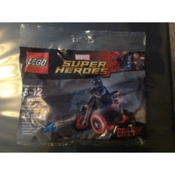 Lego Polybag # 30447 Captain America's Motorcycle Polybag