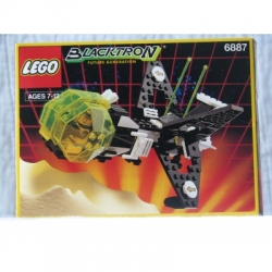 Item #6887 Allied Avenger.  Space-Blacktron 2